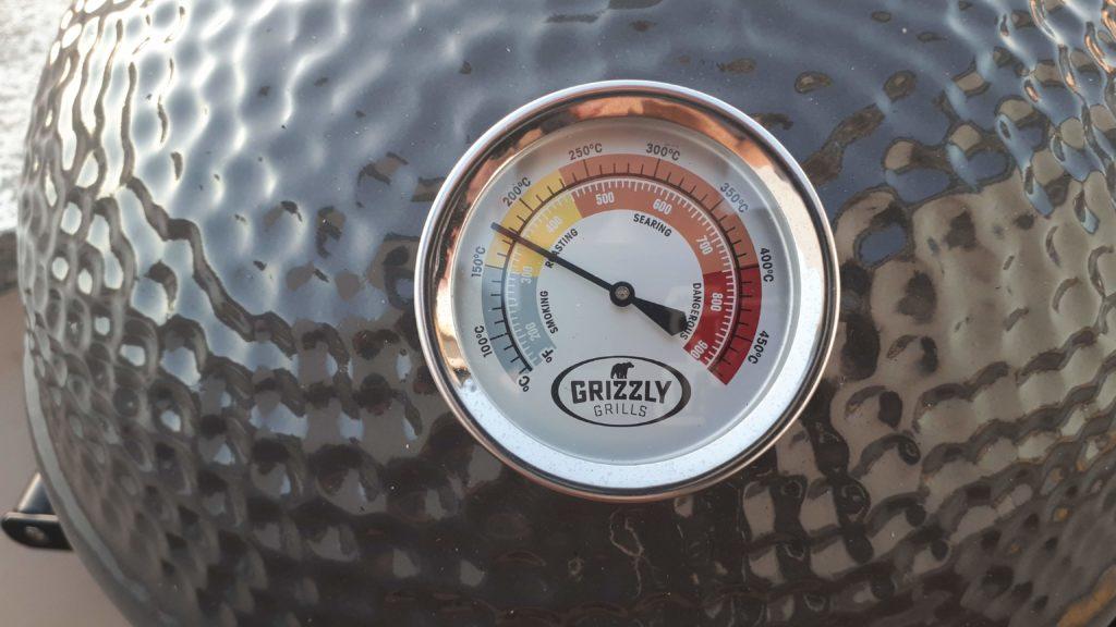 kamado grill thermometer